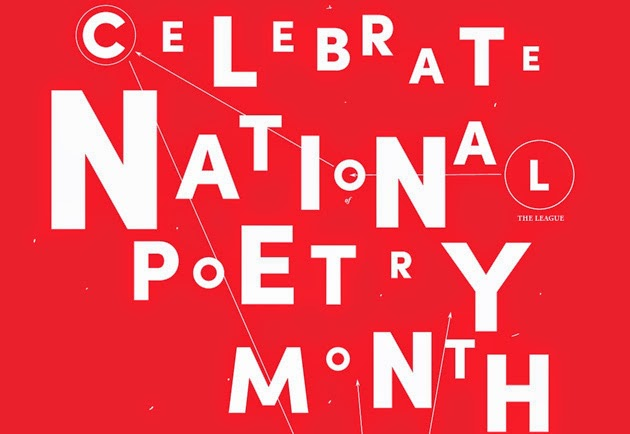 Image result for national poetry month