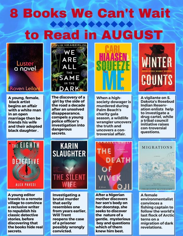books in august