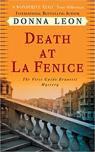 Death at La Fenice by Donna Leon catalog link