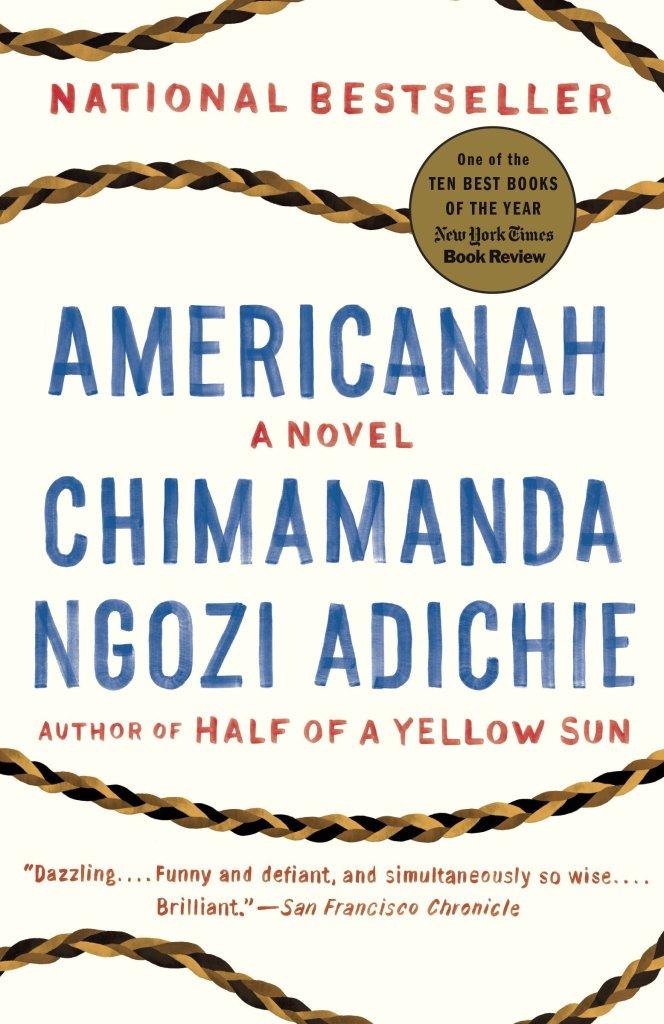 Americanah by Chimamanda Ngozi Adichie catalog link