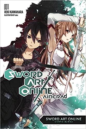 Sword Art Online Volume 1 catalog link