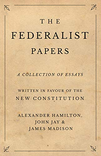The Federalist Papers catalog link