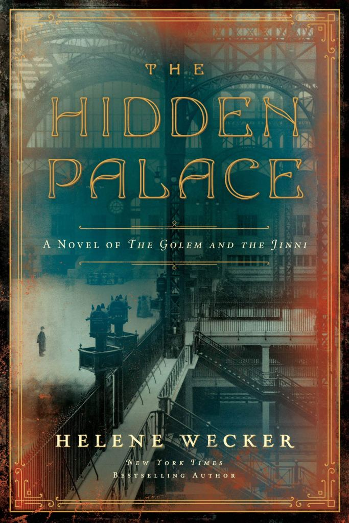 Book cover of The Hidden Palace by Helene Wecker