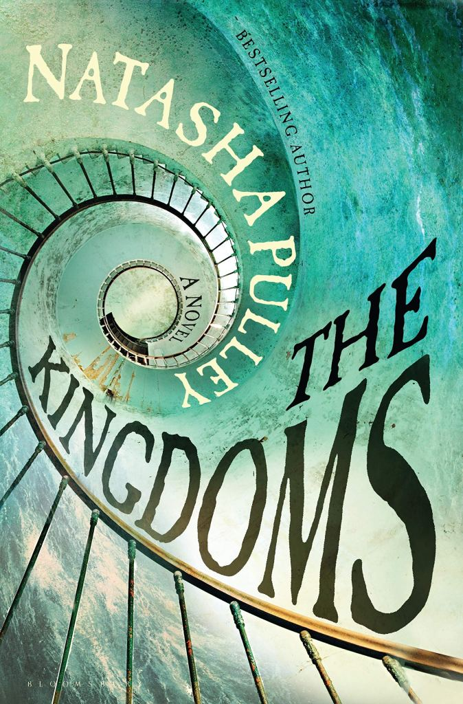The Kingdoms by Natasha Pulley book cover and RRPL catalog link