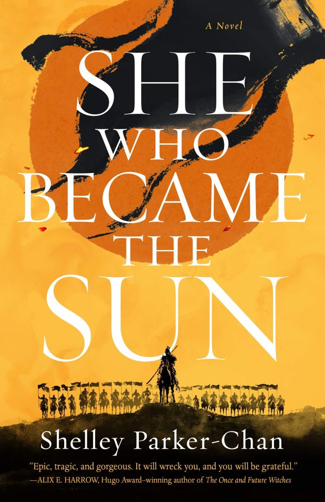 She Who Became the SunbyShelley Parker-Chanbook cover and catalog link