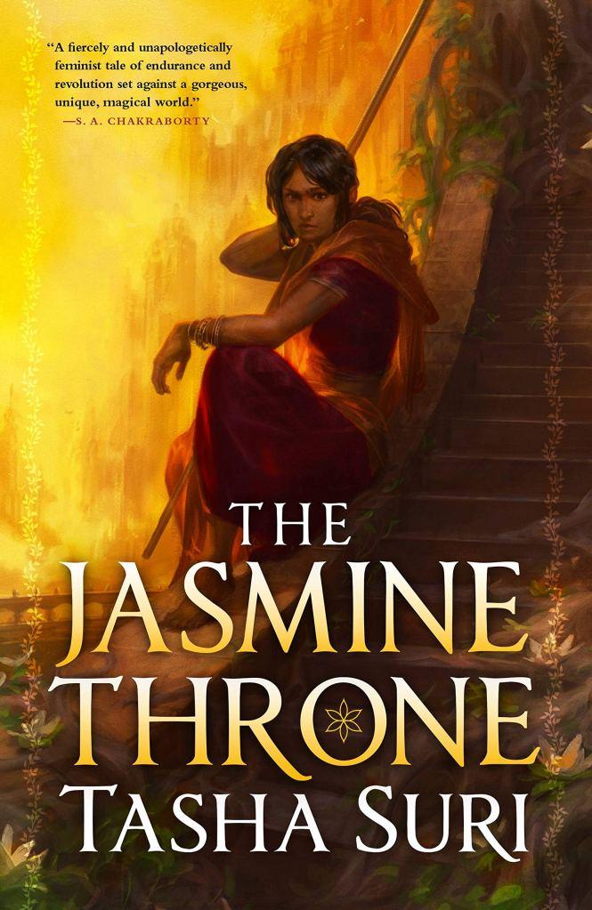 The Jasmine Throneby Tasha Suri book cover and catalog link