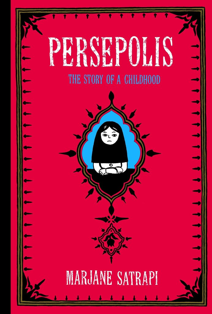 Persepolisby Marjane Satrapi book cover that links to RRPL catalog.